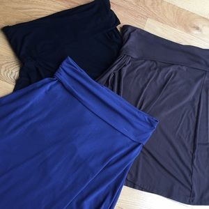 Bundle of 3 old navy fold over skirts